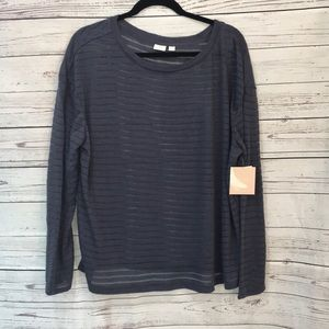 NWT 14th and union sheer sweater {K4